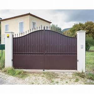 Modele De Portail Coulissant : portail fer coulissant portail fer battant portail sur ~ Premium-room.com Idées de Décoration