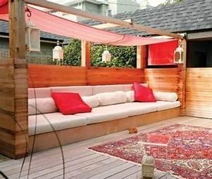 Garten Lounge Paletten : paletten mobiliar f r drau en sch ne idee zum selbermachen au ergew hnlich bett garten ~ Whattoseeinmadrid.com Haus und Dekorationen