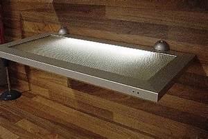 Wandregal mit beleuchtung kuchenregal kuche licht ebay for Küchenregal mit beleuchtung