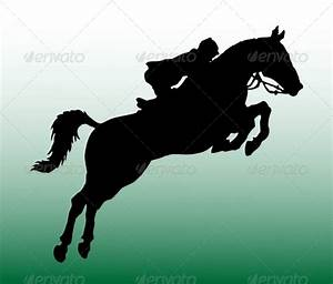 Running Horse And Rider Silhouette » Tinkytyler.org ...