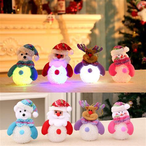 eva christmas led light lamp home decoration christmas