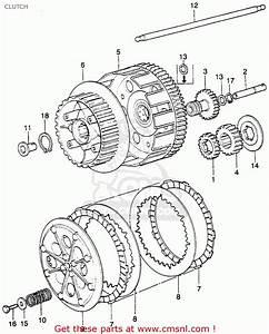 Honda Xl250 Motosport K1 1974 Usa Clutch
