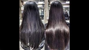 кератиновое выпрямление волос на короткие волосы фото