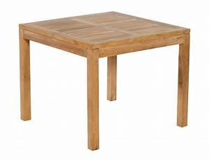 Tisch wellington 90x90 cm aus teakholz gartenm bel for Tisch 90x90