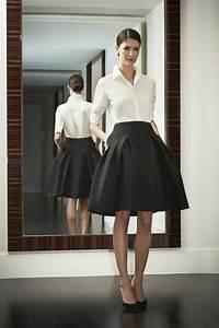 la chemise blanche un must have archzinefr With jupe a carreaux noir et blanc