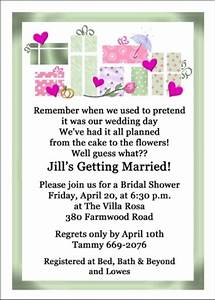 8 best images about wedding shower invitations wording on With wording for wedding shower invitations