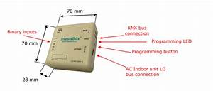 Lg Vrf Systems To Knx Gateway With Binary Inputs