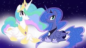Princess Celestia And Princess Luna Wallpaper
