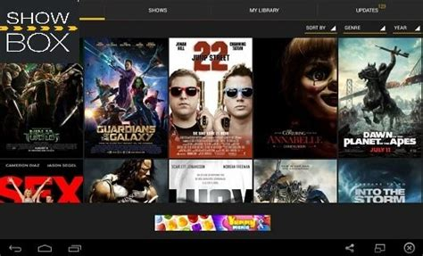 showbox for android showbox app for android free and tv