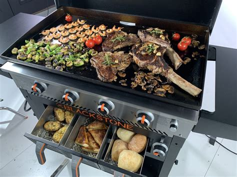 blackstone griddle combo grill recipes airfryer flat outdoor grilling dinner cooking hibachi grillingmontana healthy