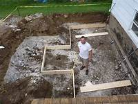 ground level deck plans Building A Ground Level Deck Footings | Home Design Ideas