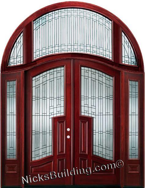 replacement interior door arched top mansion doors
