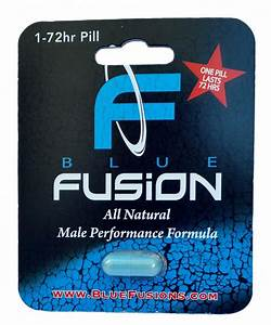 Bluefusion All Natural Male Performance Enhancement Supplement Testosterone Booster Pill For