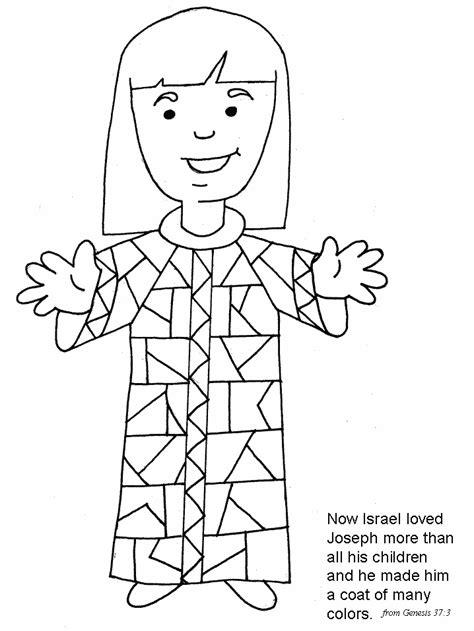 josephs coat   colors preschool church pinterest