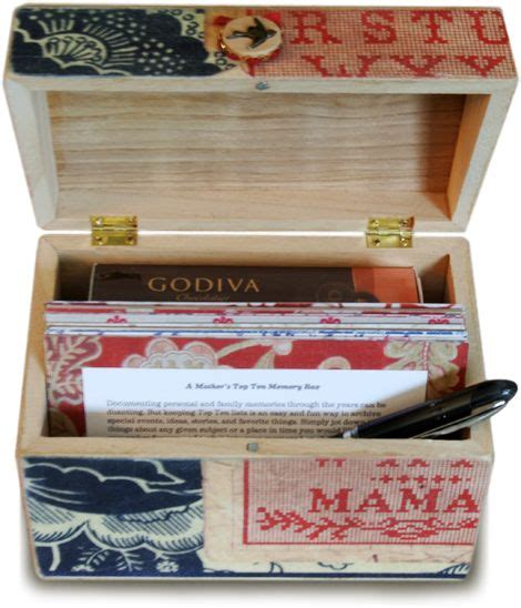 top ten memory box great gift idea   mom  mother