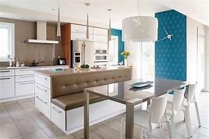 1000 ideas about ilot de cuisine on pinterest ilot de With what kind of paint to use on kitchen cabinets for 4 mur papier peint