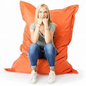 Pouf Geant Interieur : pouf g ant orange int rieur et ext rieur prix direct fabricant ~ Preciouscoupons.com Idées de Décoration