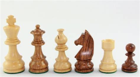 Schachbrett Holz Edel by Schachfiguren Aus Akazienholz Und Buchsbaum 76mm Edle