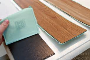 Remodelaholic   DIY Plank Backsplash Using Peel and Stick
