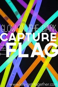 Glow-in-the-Dark Games, Activities and Food - The Idea Room