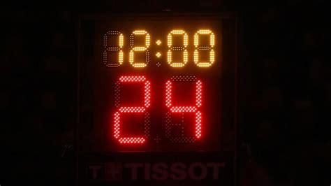 shorter reset  shot clock  offensive rebound