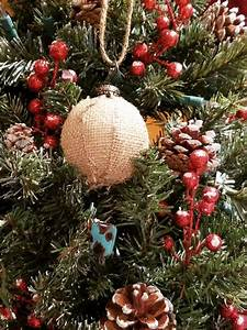 Two, Diy, Rustic, Christmas, Tree, Ornaments