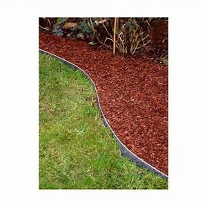 Bordure De Jardin : bordure de jardin en acier galvanis h 14 cm jardin et saisons ~ Melissatoandfro.com Idées de Décoration