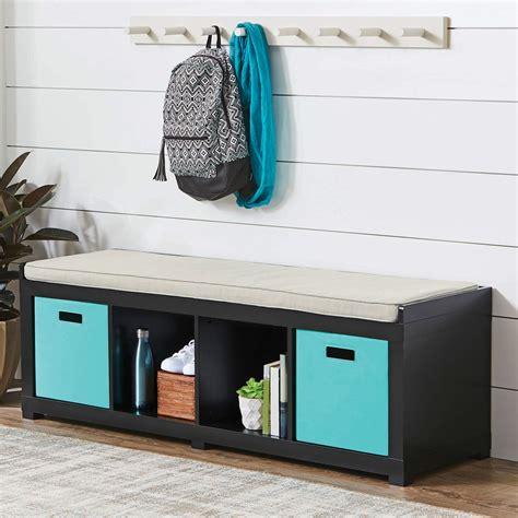 Better homes and gardens 25 cube organizer. Better Homes and Gardens 4-Cube Organizer Storage Bench ...