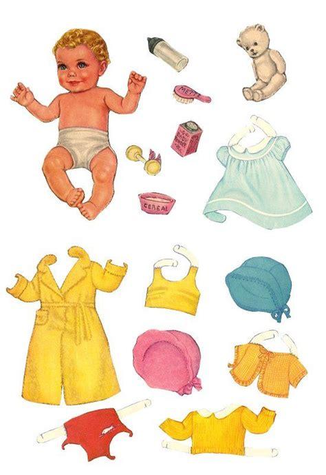 baby paper dolls  paper dolls  pinterest friends