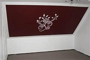 Wandschablone Selber Machen : wandschablone xxl blumenzauber f r modernes jugendzimmer ~ Lizthompson.info Haus und Dekorationen