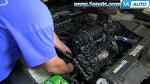 How To Replace The Intake Tensioner Coolant Elbow 1992