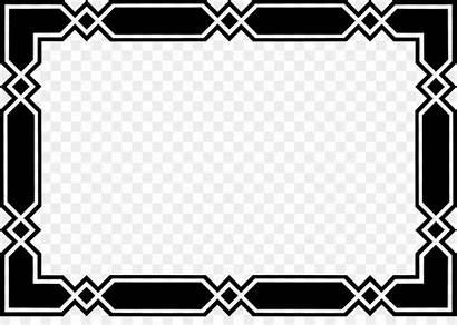 Border Background Transparent Frame Borders Clip Clipart
