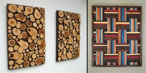 inspired  wood wall art ideas  woodworking