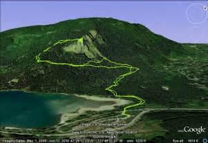 Mountain King Christmas Trees by Rattlesnake Ridge Trail Winter