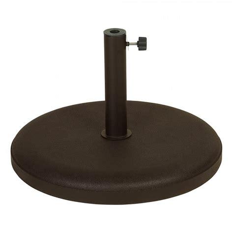 beton 40 kg parasolvoet 40 kg beton bruin voor parasols met dia 2 5 cm tot 5 5 cm ref i 253832 paradisio