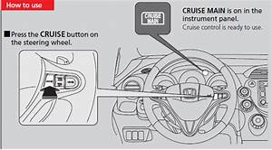 Cruise Control    When Driving    Driving    Honda Fit