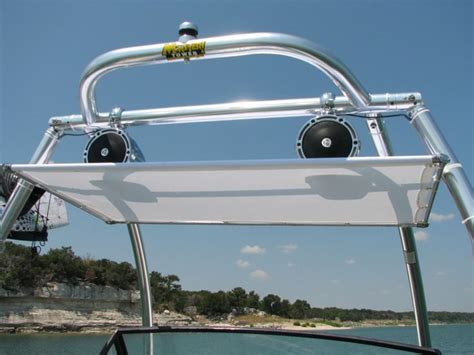 Diy Boat Bimini by My 40 Bimini Top Motorboat Tops And