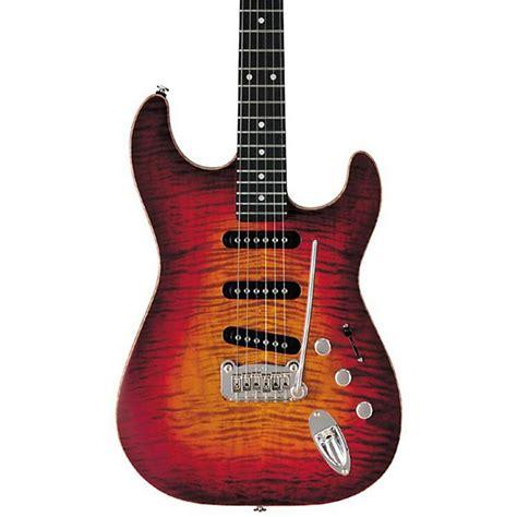 foto de G&L S 500 Deluxe Electric Guitar Cherry Burst Musician's