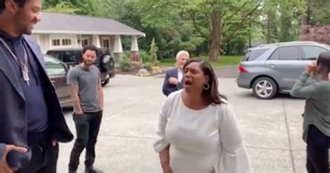 russell wilson surprised  mom   house  mothers