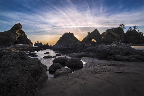 olympic mountains coast andy porter images