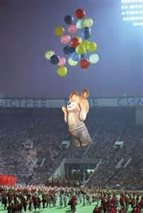 Mascot of 1980 Olympics Misha Bear