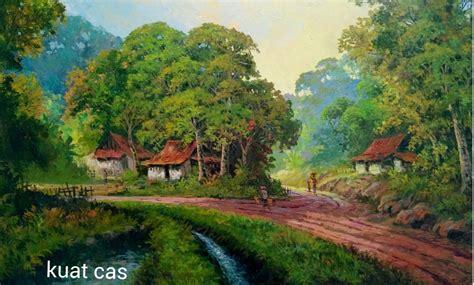 gambar pemandangan alam pedesaan terbaik
