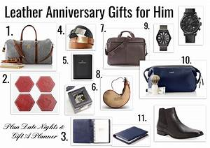3 year anniversary leather gift ideas for him With 3 year wedding anniversary gift ideas for him