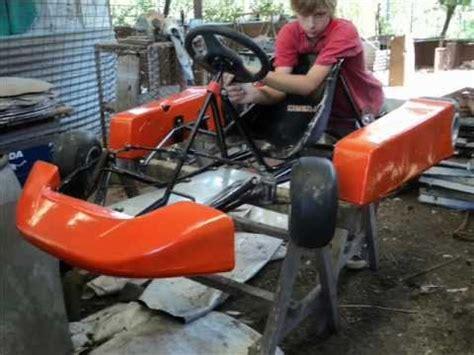construccion del karting casero youtube