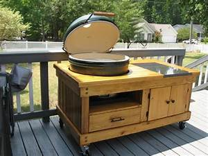 PDF DIY Extra Large Big Green Egg Table Download fine