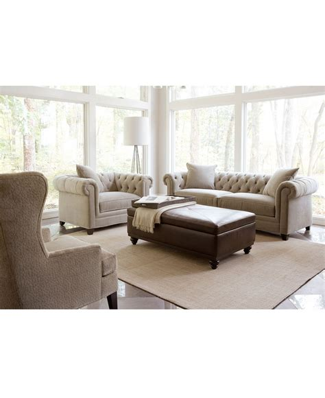 Martha Stewart Saybridge Sofa by Martha Stewart Saybridge Living Room Furniture Collection