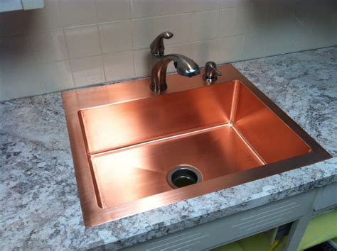 how to clean a copper sink copper kitchen sinks pros and cons backsplash how to