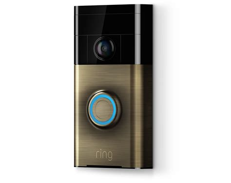 ring door bell see hear and speak to visitors with ring doorbell