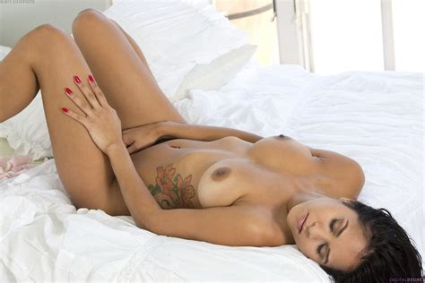 Latina Beauty Abby Lee Brazil Poses Naked On Bed My Pornstar Book