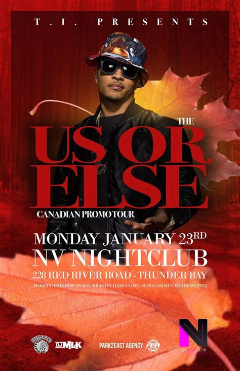 t i the us or else tour at nv nightclub tbshows